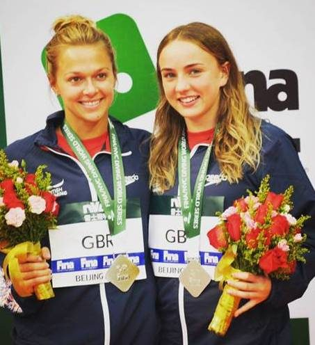Leeds Lois Toulson Wins Medal in First Leg of the World Diving Series ~  Swim England North East